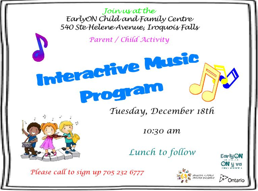 Interactive Music Program