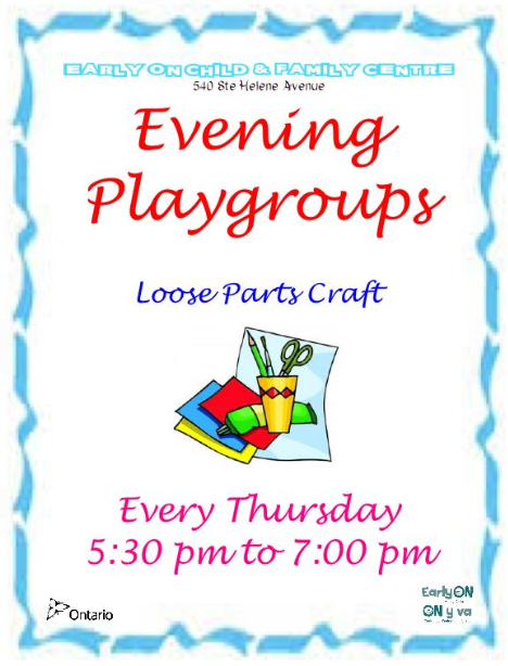 Thursday Night Playgroup