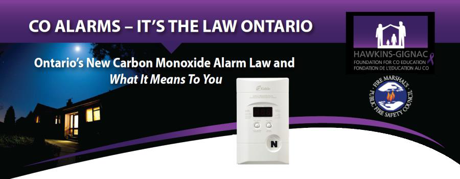 CO Alarms Poster