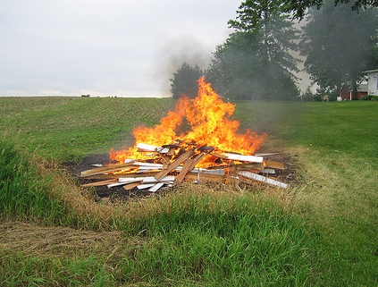 Outdoor Burning Photo